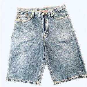 CG size 38 Denim Shorts with Rainbow details